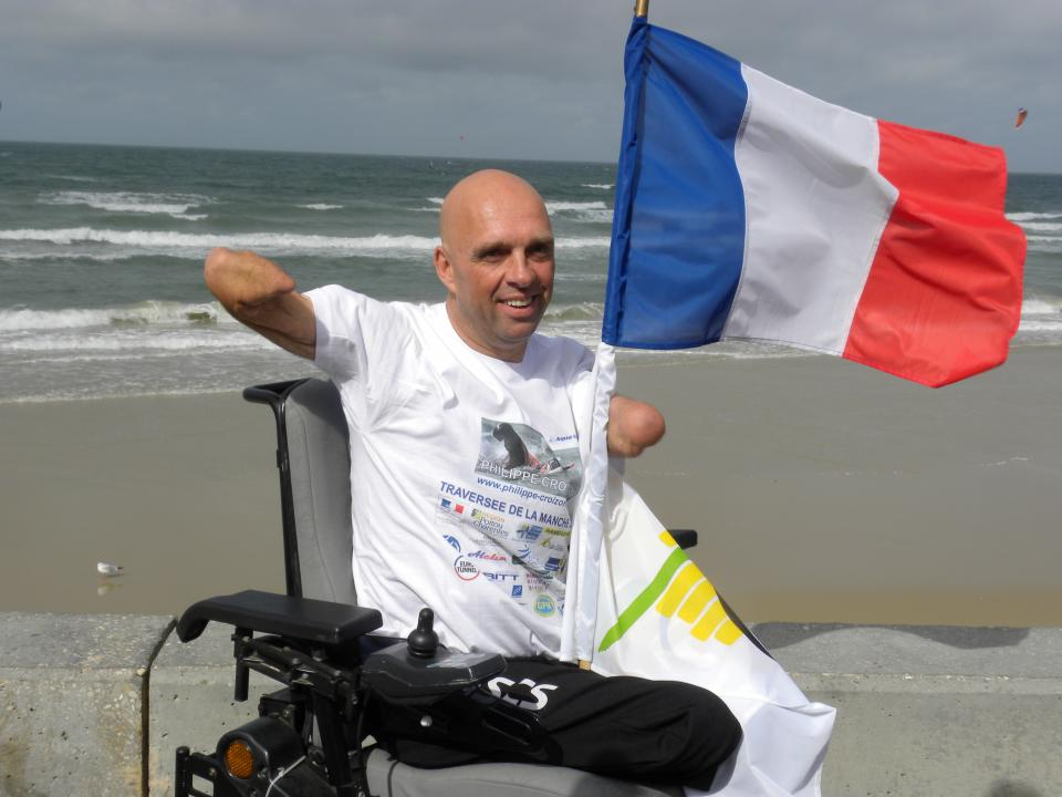 Philippe Croizon to cross the Channel swim