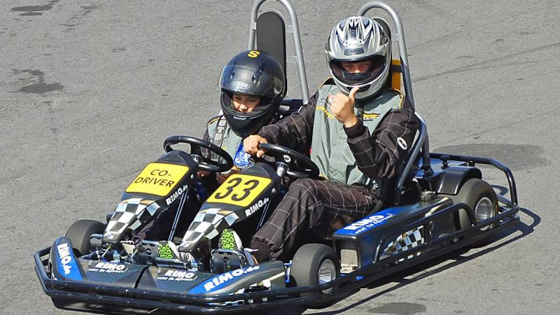 France, Crolles, in Isère, will host the first kart grand prize for blind and low vision participants.